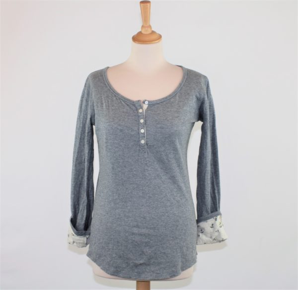 TEE-SHIRT GRIS TAILLE S