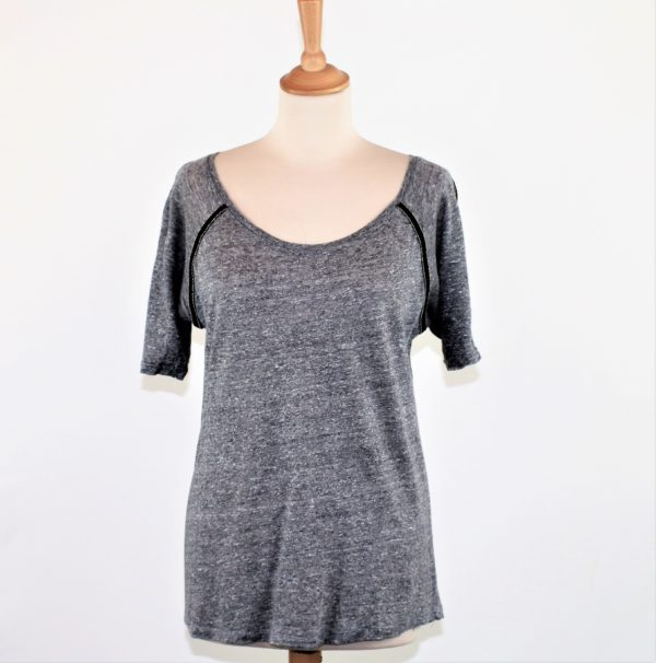 TEE-SHIRT GRIS VERSION ORIGINALE TAILLE L