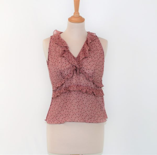 Top vieux rose taille 38