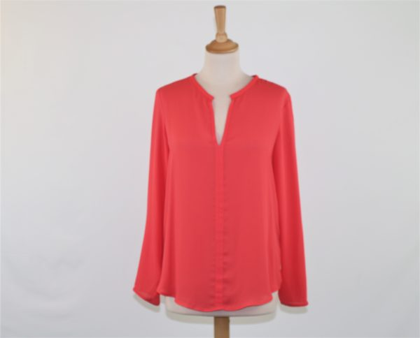 blouse corail zara taille M