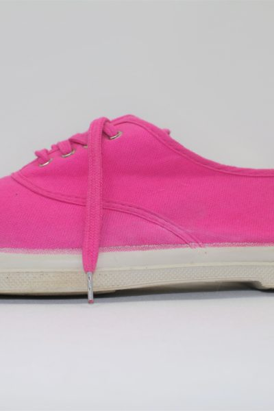 Tennis rose fuchsia BENSIMON lacets