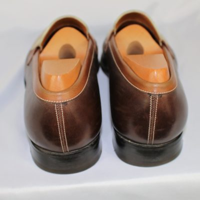 MOCASSINS CUIRS JM WESTON TAILLE 40