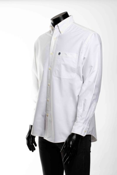 Chemise blanche manches longues TIMBEERLAND taille S