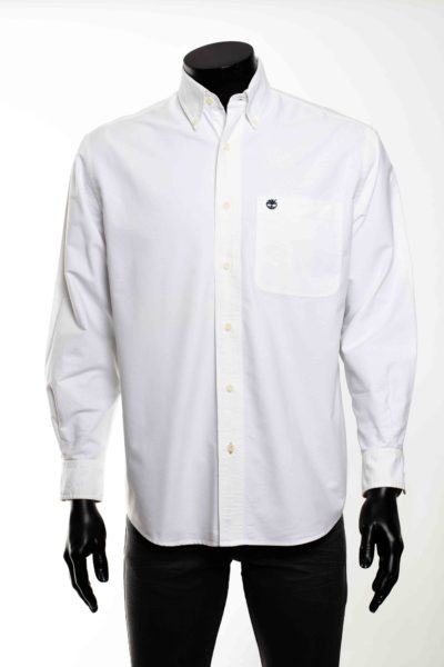 Chemise blanche manches longues TIMBEERLAND taille S -2-