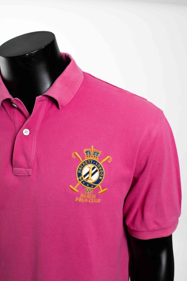 Polo rose HACKETT LONDON taille XXL 4