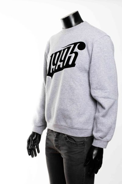 Sweat gris taille M -2-