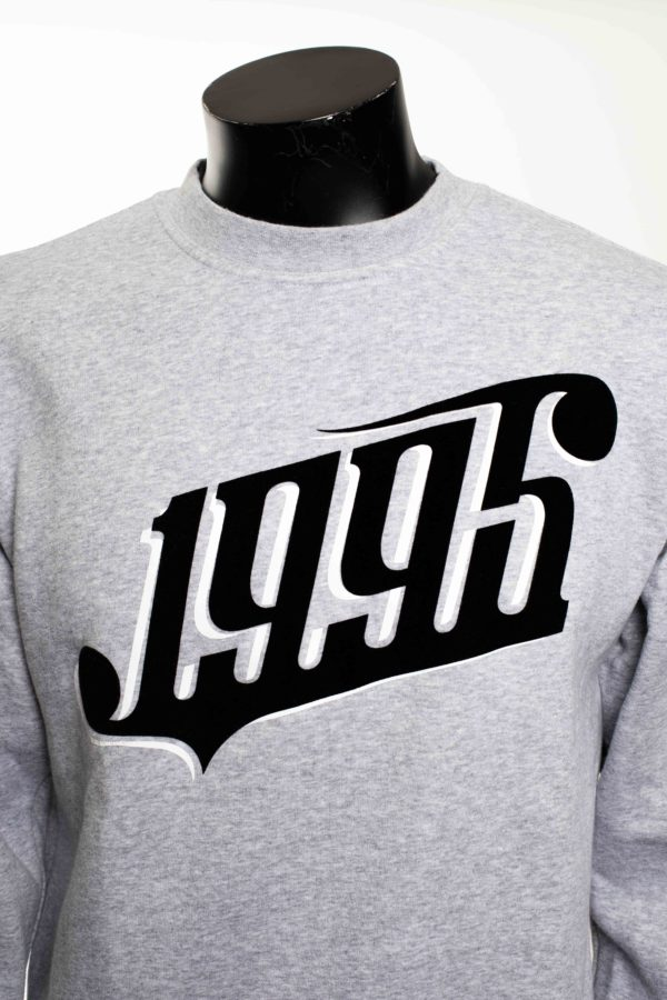Sweat gris taille M -4-