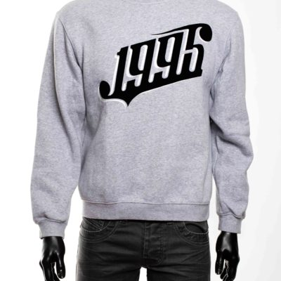 Sweat gris taille M -1-