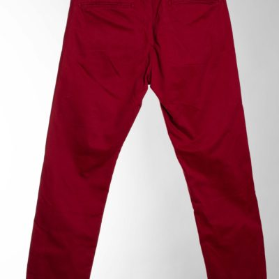 CHINO ROUGE TAILLE 40 CELIO