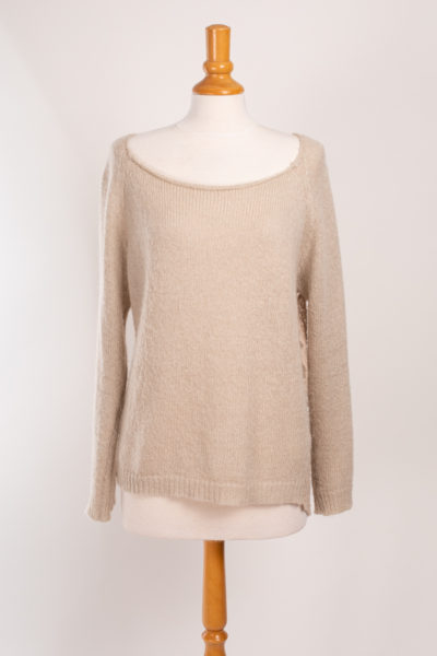 pull beige taille 5