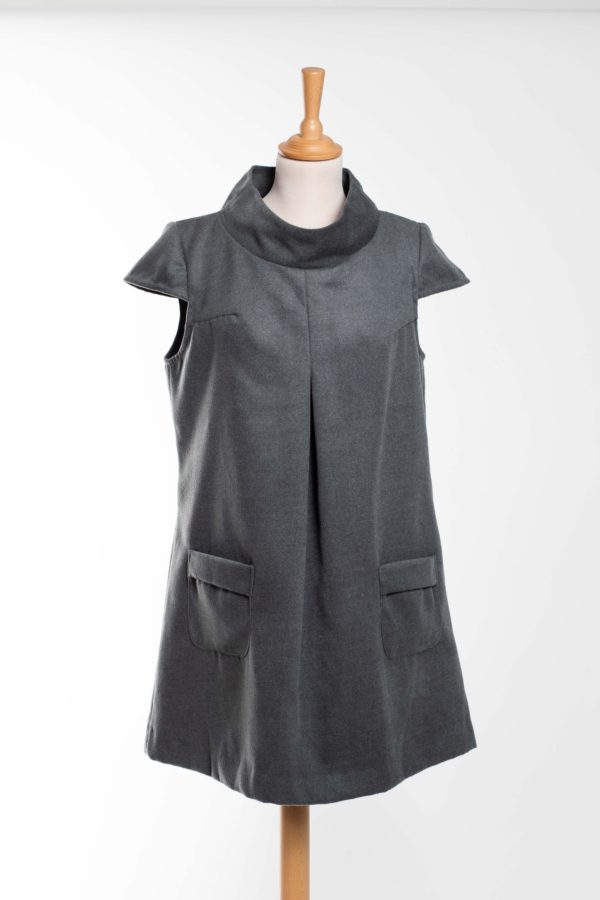 ROBE GRISE BY ZOE TAILLE L