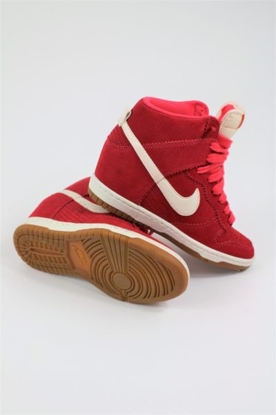 nike occasion baskets rouge