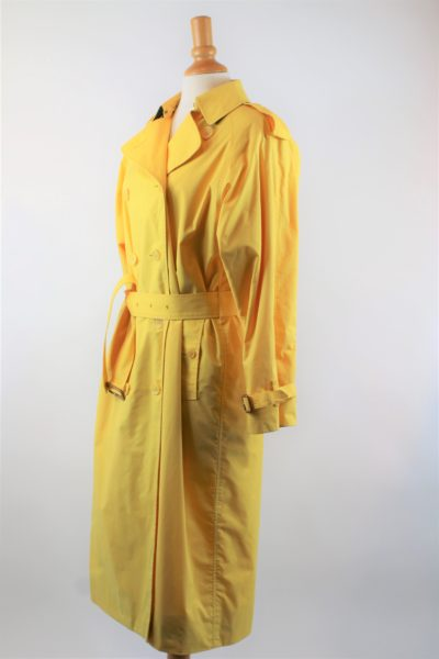 Trench coat BURBERRY gabardine VINTAGE