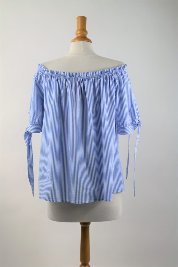 blouse rayée occasion
