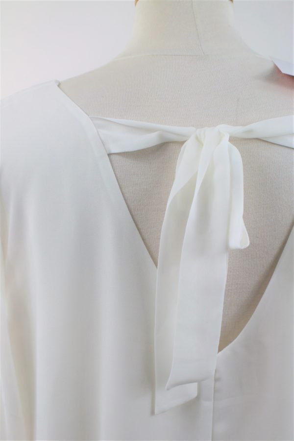 blouse voluptueuse blanche