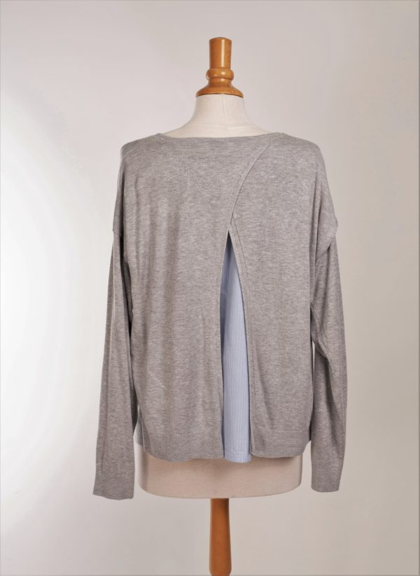 pull dos ouvert caroll