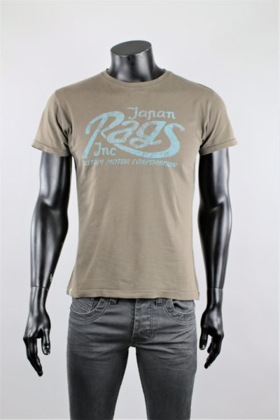 tee-shirt kaki japan rags