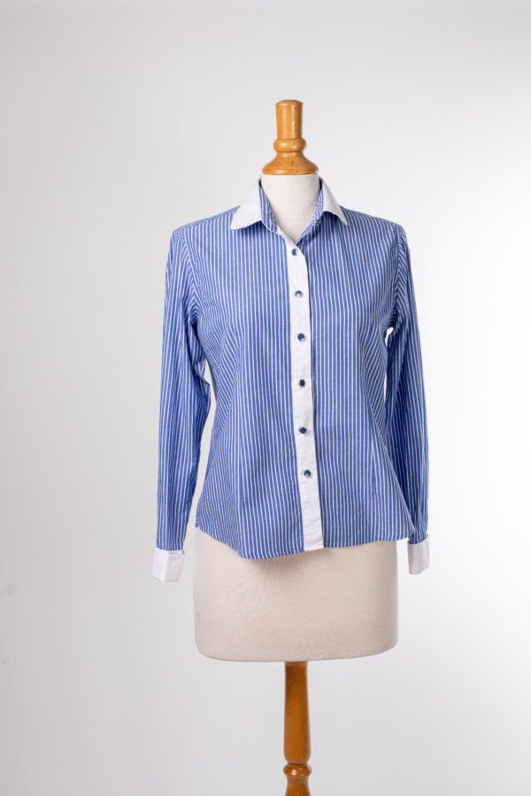 Chemise femme rayée occasion taille 8