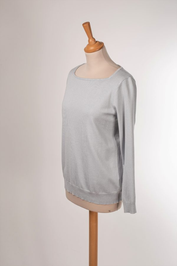 Pull gris clair GALERIES LAFAYETTE