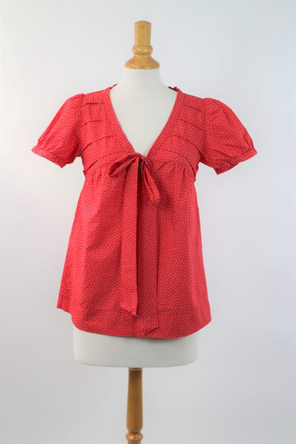 Top rouge occasion ZARA T.M