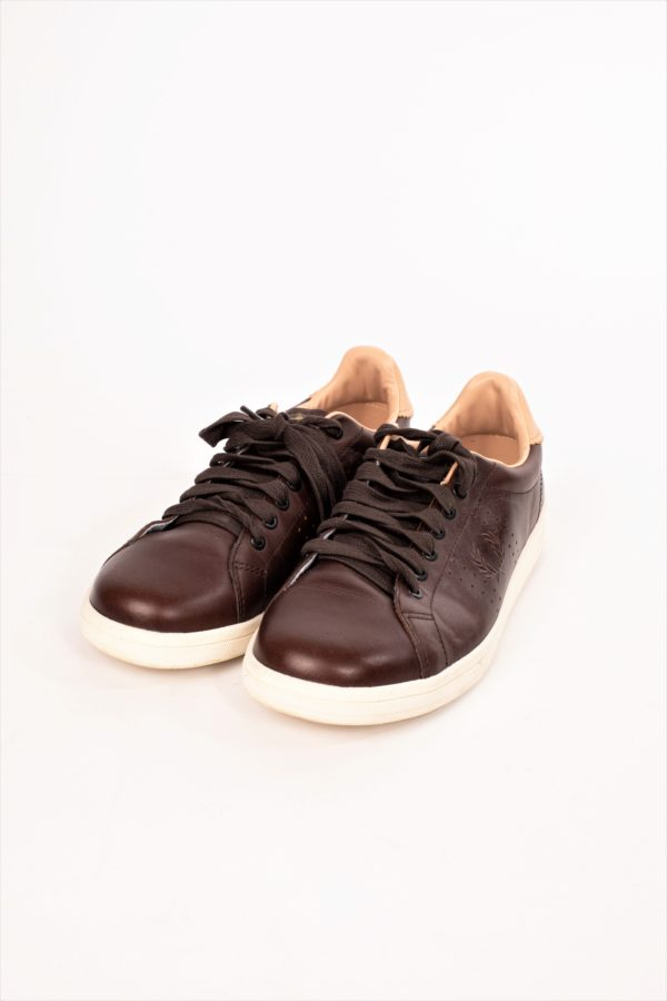 SNEAKERS MARRON FRED PERRY
