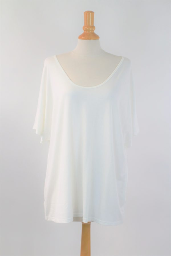t-shirt blanc OVER SIZE