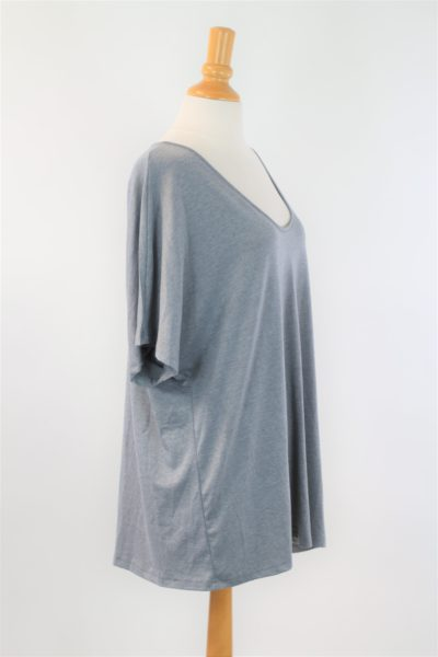 t-shirt gris OVER SIZE